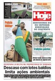 Descaso com lotes baldios limita ações ambientais - Jornal Hoje