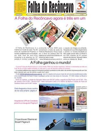 Folha março 2011.pmd - Jornal Folha do Reconcavo