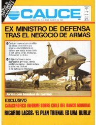 Revista Cauce n°18 - Sala de Historia