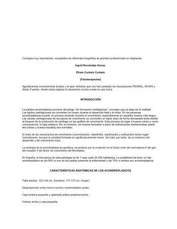 Fisioterapia para Acondroplasia.pdf - Acondroplasia Uruguay