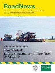 Tema central: El futuro cuenta con InLine Pave® de VÖGELE