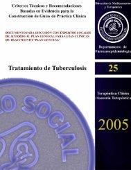 Tratamiento de Tuberculosis - Centro Cochrane para Centroamérica