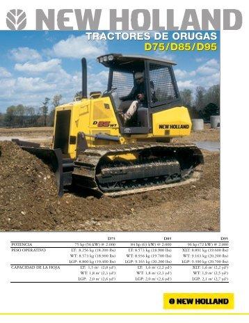 tractores de orugas d75/d85/d95 tractores de orugas d75 ... - Aimsa