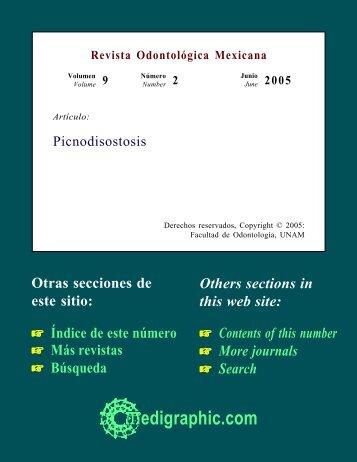 Revista Odontológica Mexicana - edigraphic.com