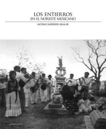 Los entierros en el noreste mexicano