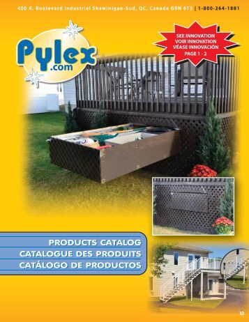 products catalog catalogue des produits catálogo de ... - Pylex