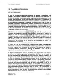 13. PLAN DE CONTINGENCIA - Tertulias IDU Bogotá