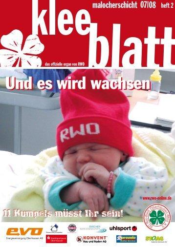 Und es wird wachsen - SC Rot-Weiß Oberhausen eV