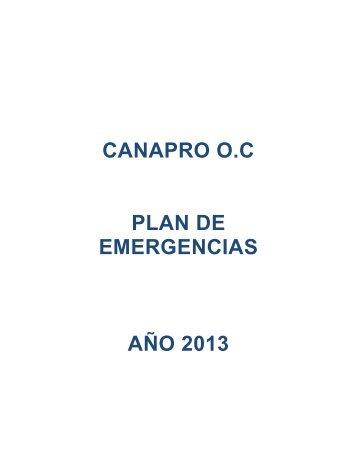 1 plan de emergencias canapro 2013