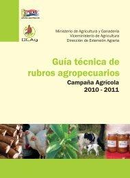 guia tecnica.cdr - Ministerio de Agricultura y Ganadería