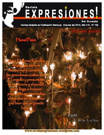 AGORA Y...Así es la política - Revista Expresion del Sureste Mexicano
