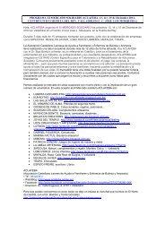 PROGRAMA XI MERCADO SOLIDARIO ACLAFEBA. 13, 14 y 15 de ...