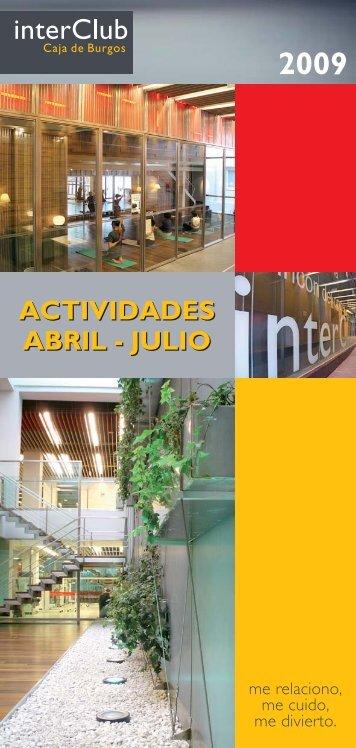 actividades abril - urbinavolant