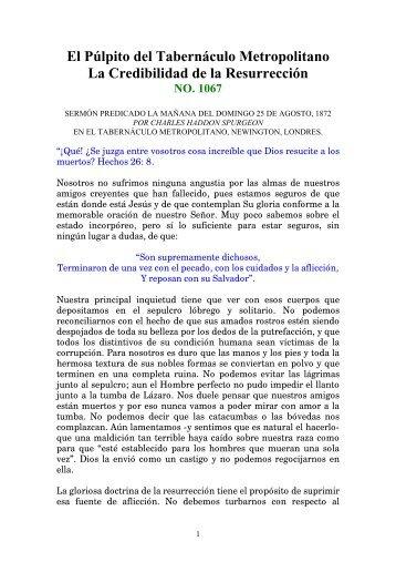 Sermon 1067 - Charles H. Spurgeon
