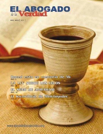 No.3 Vol 2 ABRIL-MAYO 2011 - Iglesia de Dios Apostólica del 7