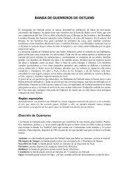 BANDA DE GUERREROS DE OSTLAND - Enano Verde