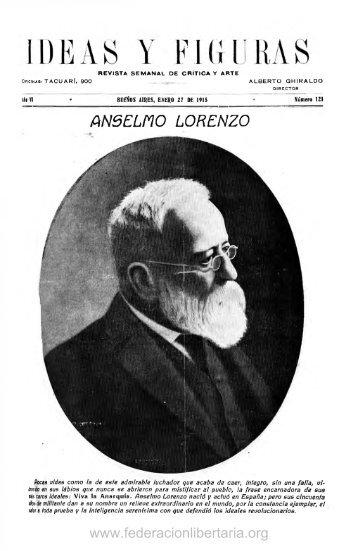 1915, enero. Año VI, nº 121. - Federacion Libertaria Argentina