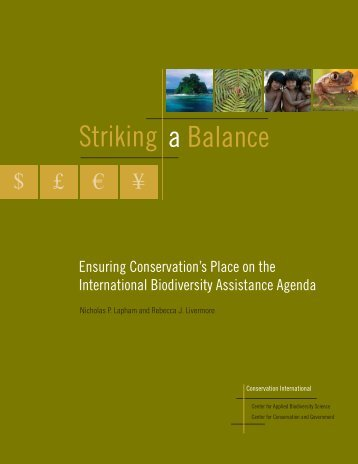 Striking a Balance - IUCN Knowledge Network