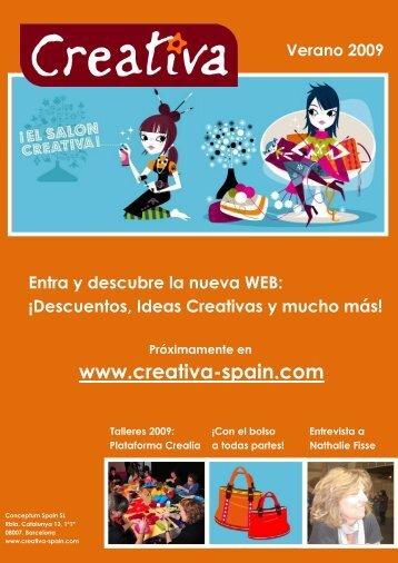 Boletín Creativa Verano 2009 - Creativa Spain
