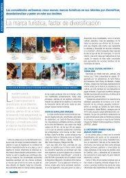 La marca turística, factor de diversificación - Hosteltur.com