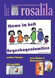 Regenbogenfamilien - Rosa Lila