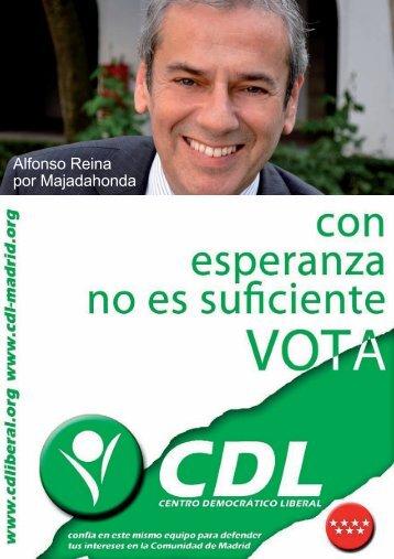 Programa Electoral Completo Centro Democrático Liberal ...
