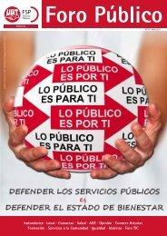 Foro Público 47 - FSP - UGT Asturias - Federación de Servicios ...
