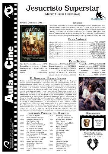 Jesucristo Superstar - Aula de Cine