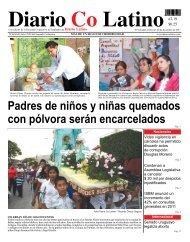 Padres de niños y niñas quemados con pólvora ... - Diario Colatino