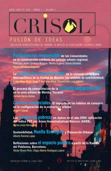 Revista Crisol No 3.indd - Universidad Autónoma de Ciudad Juárez