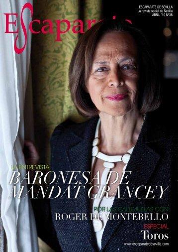 BARONESA DE MANDAT GRANCEY - Escaparate de Sevilla