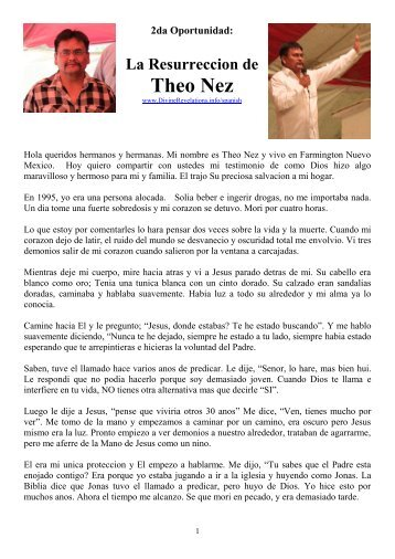 2nd Chances: The Story of Theo Nez