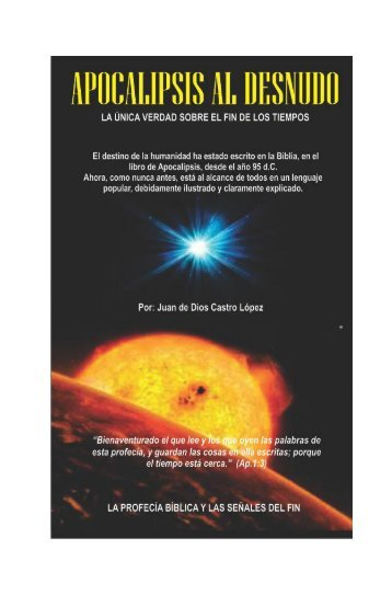 Apocalipsis - Iglesia Cristiana de la Biblia Abierta Misión Colombia