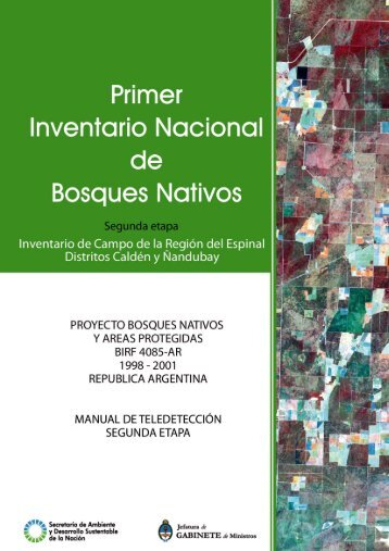 Manual de Teledetección - Secretaría de Ambiente y Desarrollo ...