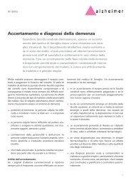 Accertamento e diagnosi della demenza