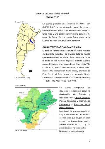 37 delta del parana - Subsecretaría de Recursos Hídricos