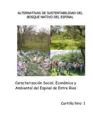 Cartilla Nro 1 Entre Ríos - Secretaria de Ambiente y Desarrollo ...