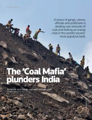 The 'Coal Mafia' plunders India