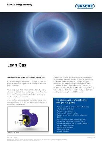 Lean Gas pdf, 528.5 KB, 2 Page(s) - Saacke.com