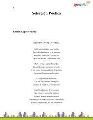 Selección Poética Ramón López Velarde