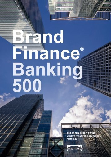 top 10 most valuable banking brands in the world - Brand Finance