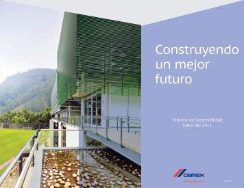 Construyendo un mejor futuro - Cemex Colombia