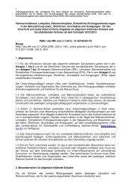 Richtlinien, Grundsätze und Anregungen - Kultusministerium ...