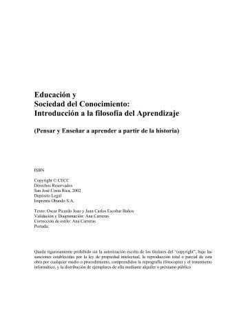 Educación y Sociedad del Conocimiento: Introducción a la