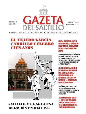 gazeta agosto 2010.pmd - Archivo Municipal