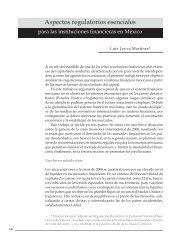 Aspectos regulatorios esenciales para las instituciones financieras en