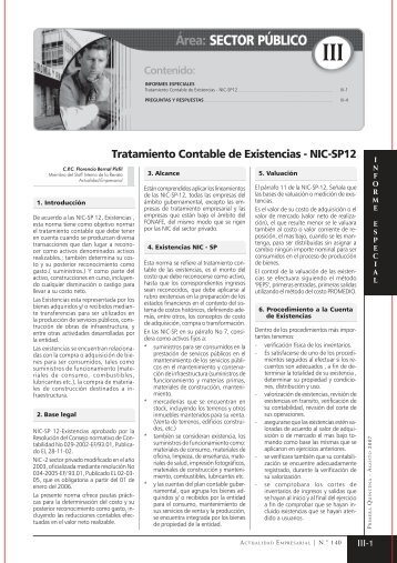 sector publico.pmd - Revista Actualidad Empresarial