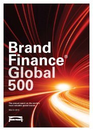 The annual report on the world's most valuable ... - Brand Finance