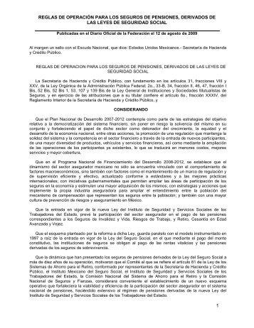 SECRETARIA DE HACIENDA Y CREDITO PUBLICO - Cnsf