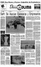Sarh: Se Asocian Ejidatarios y Empresarios ~ - Universidad de Colima